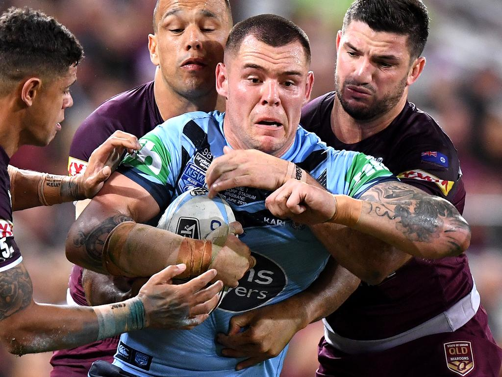 David Klemmer was huge at State of Origin game I.