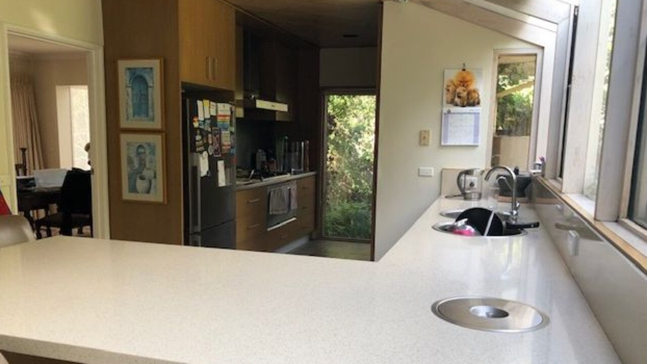 A kitchen at the Templestowe Lower home.