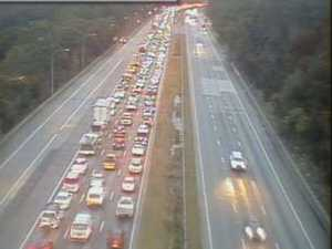 Heavy delays on Sydney's M1 motorway