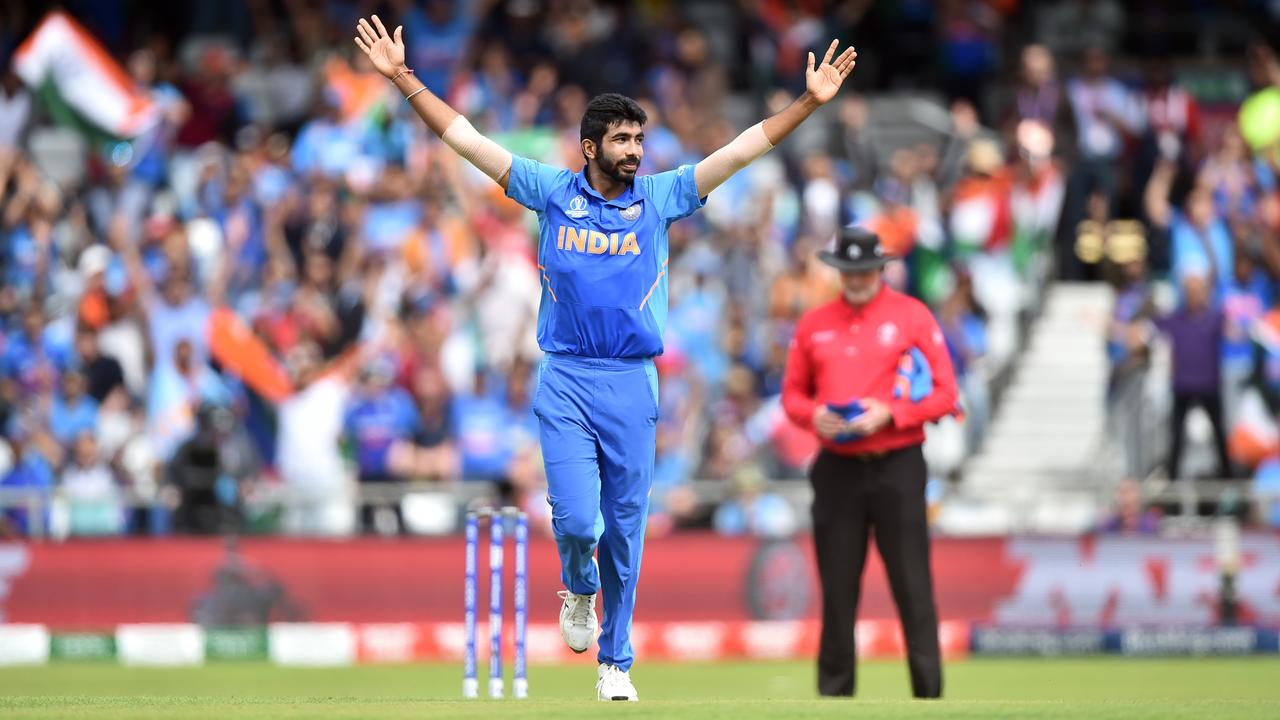 Indian quick Jasprit Bumrah is a serious threat at the start and end of an innings.