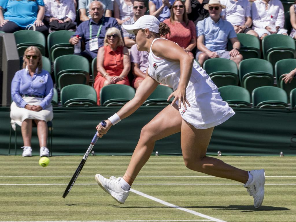 Ash Barty is not taking her next wimbledon opponent lightly. Picture: Ella Pellegrini