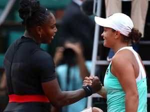 Fresh swipe in Barty, Serena storm