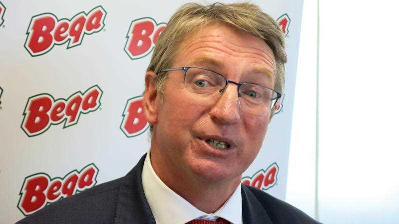Bega Cheese Executive Chairman Barry Irvin
