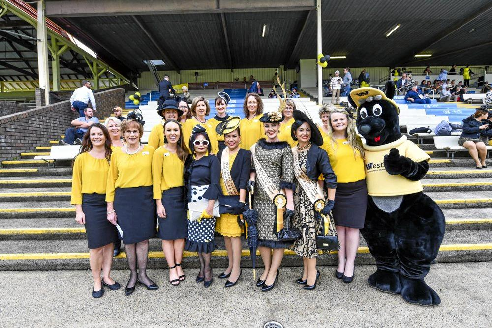 Westlawn Black and Gold Race Day is a golden opportunity for fashionistas and families.