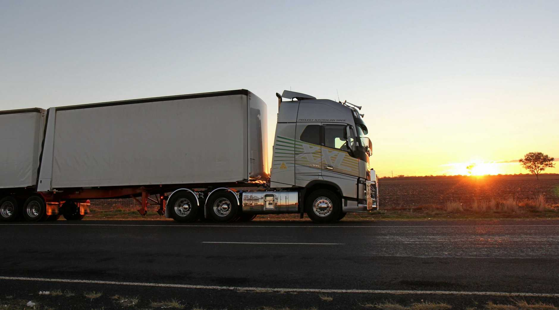 OVERNIGHT TEST: Big Rigs took the Volvo FH16 with the new XXL cab that was at the Brisbane Truck Show and headed south-west of Brisbane for a country run.