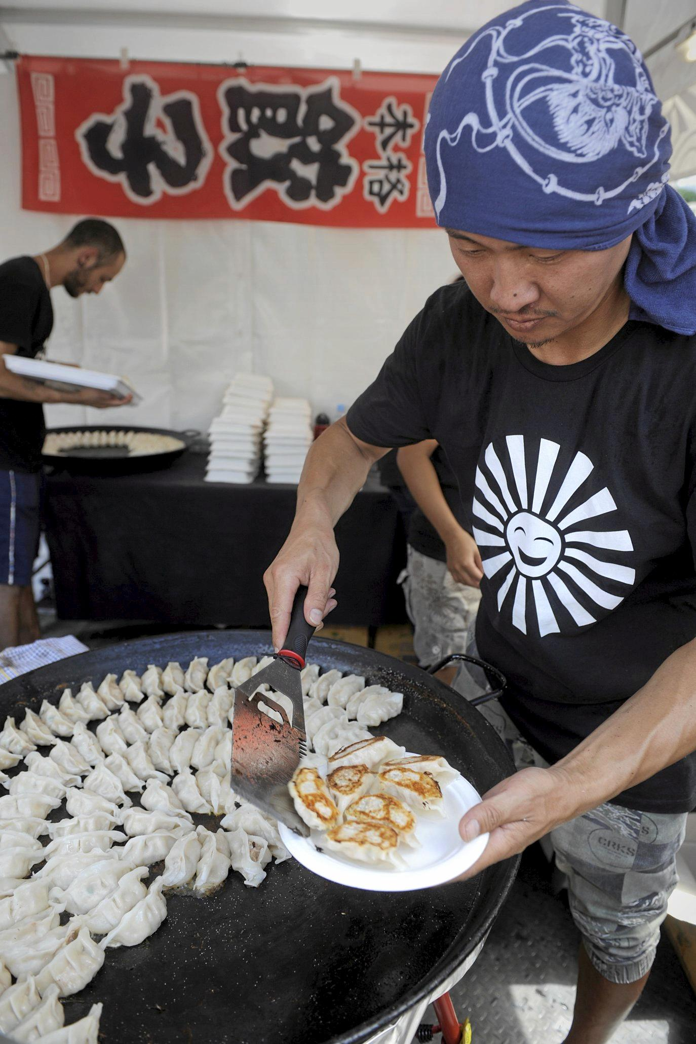 Shor of Shoza Gyoza will bring his street food to the festival.