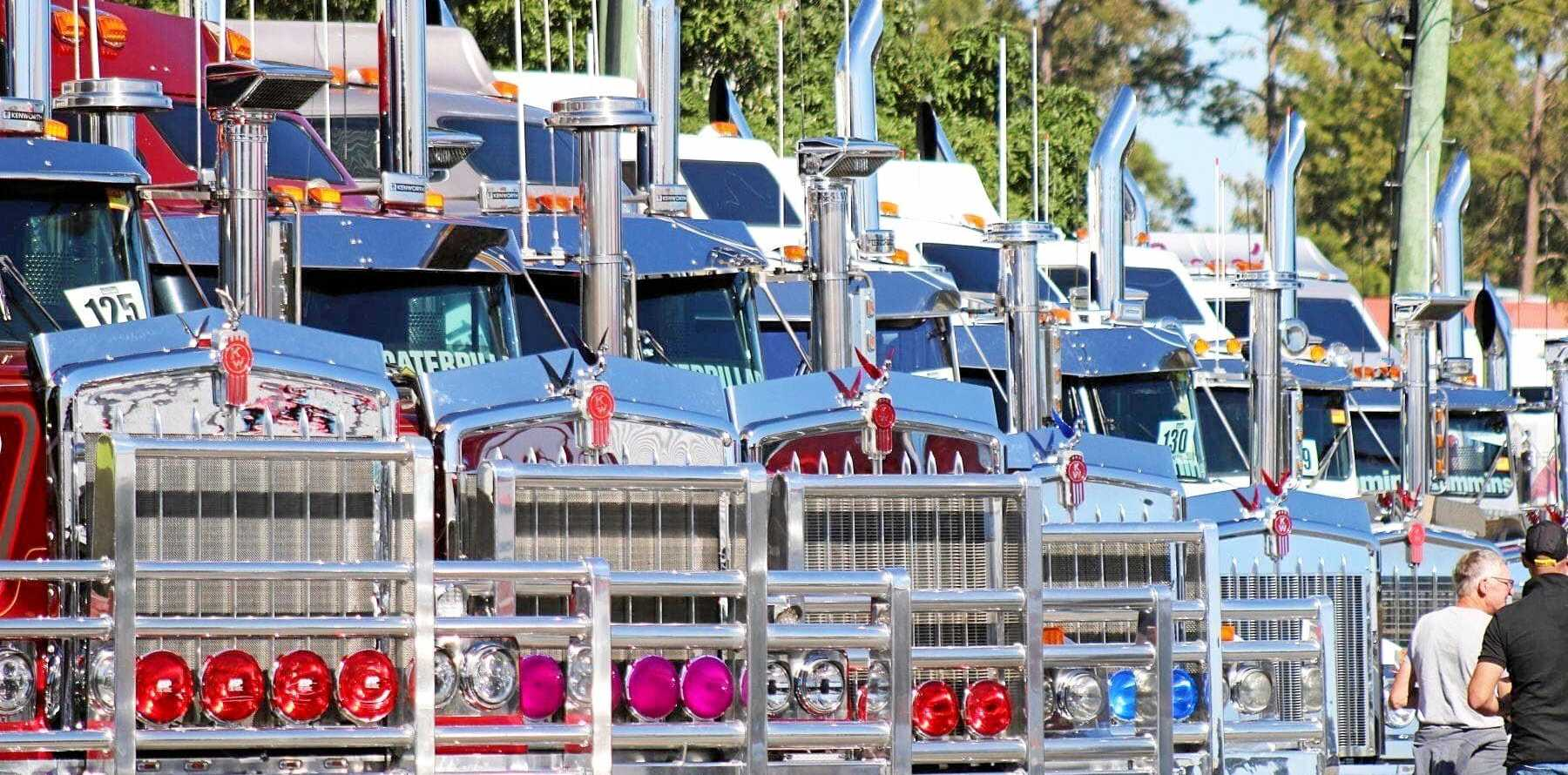 GREAT TRUCK SHOW: Hundreds head to Casino for the annual truck show every year.