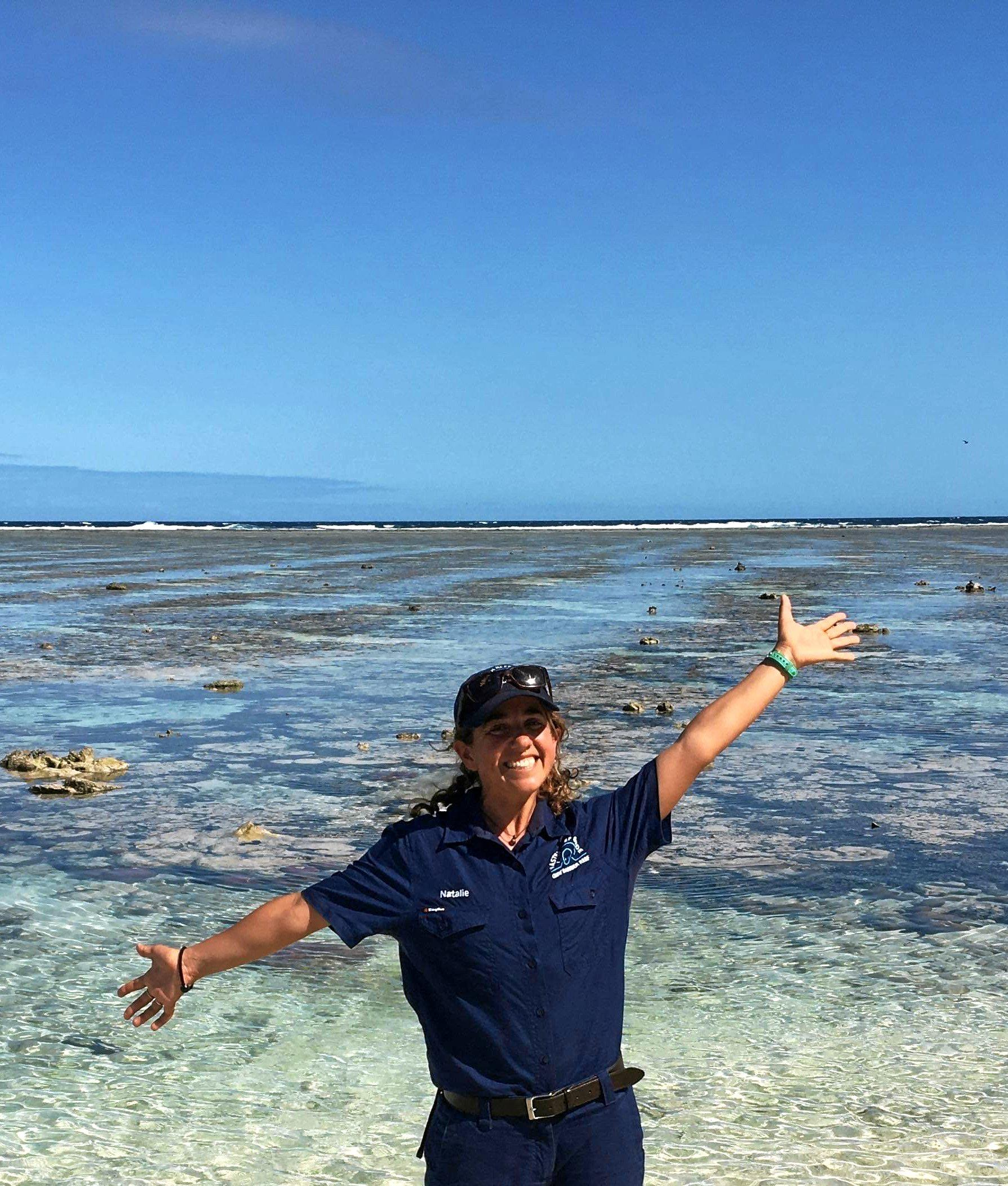 PASSION FOR THE REEF: Great Barrier Reef Master Reef Guide Natalie Lobartolo will be one of the presenters at Oceanfest this year.
