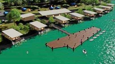 PROPOSED: Hanseath Tourism Precinct waterfront's planned