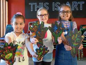 Painting goes hand in hand with NAIDOC week