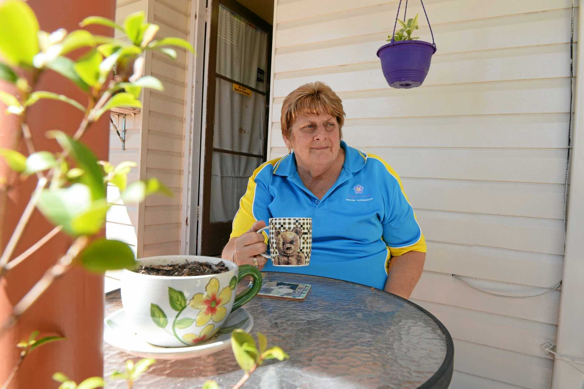 Judy Read cared for her father in law when he was diagnosed with Alzheimer's and knows how important respite care is. Photo Lee Constable / Daily Mercury