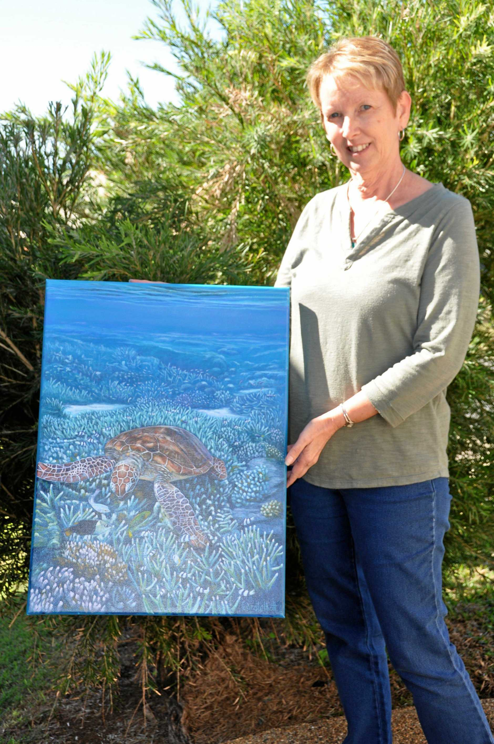 Carole Elliot is one of 10 Capricorn Coast Artists who will feature in this years Village Festival exhibition