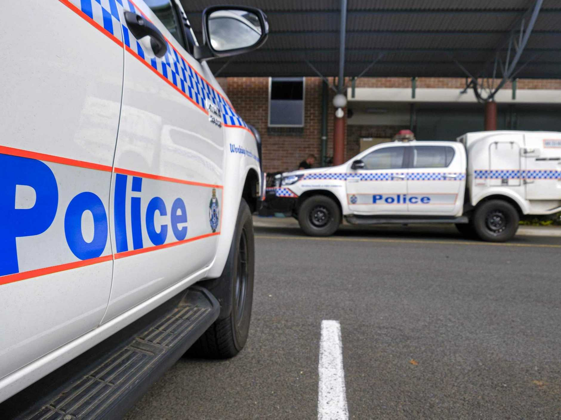 Police were called to the incident in town.