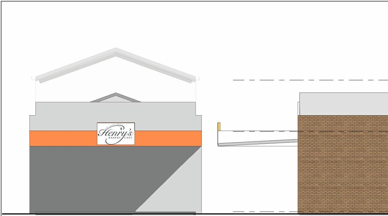 Plans have been lodged for a new mezzanine level at Henry's Bakery Cafe.