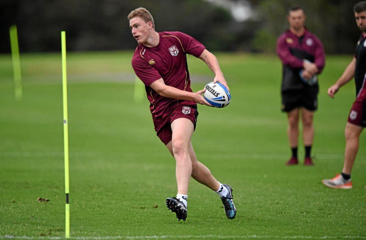 Logan Bayliss-Brow has been selected in the Queensland Under 20 squad.