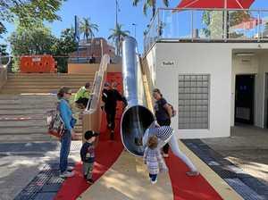 Giant slide to help slip children into education