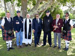 TRAGEDY: Hervey Bay service honours doomed WWII raiders