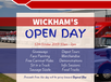 Wickham's is holding an Open Day in celebration of their 25th Anniversary and in doing so will be raising much needed funds for Beyond Blue.