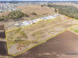 Industrial land in fast-growing regional area for sale