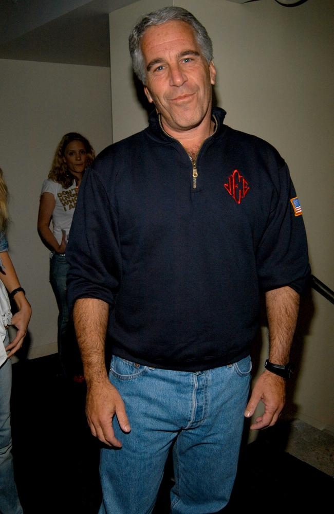 Jeffrey Epstein at Hotel QT on May 18, 2005. Picture: Neil Rasmus/Patrick McMullan via Getty Images.