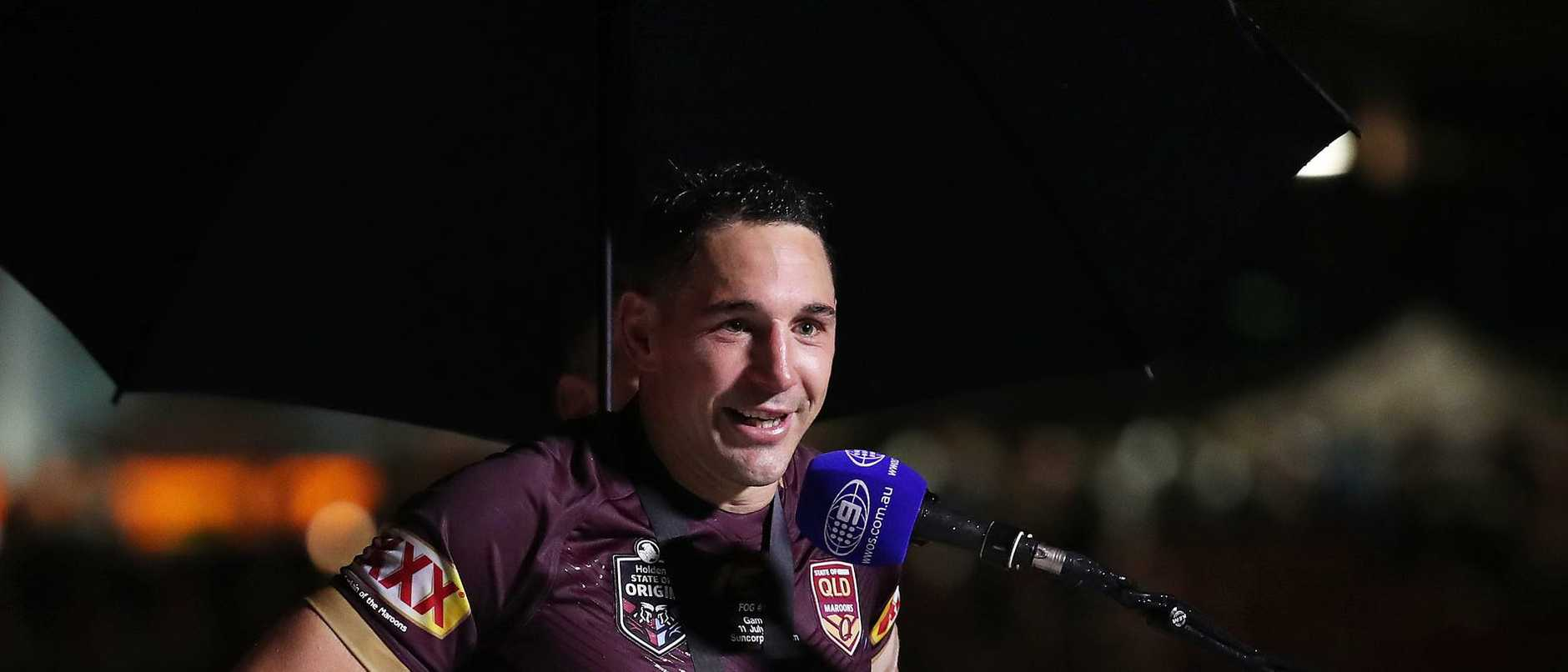 Billy Slater won the origin man of series last year despite only playing two games.