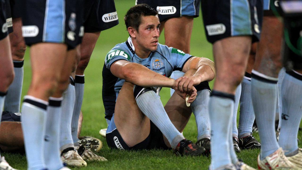 Pearce laments another loss during the early days of his Origin career.