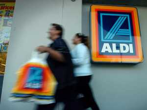 Aldi store evacuated over bomb fears