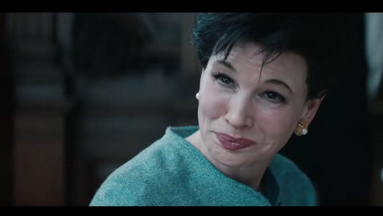 Renée Zellweger in the Judy Garland biopic.