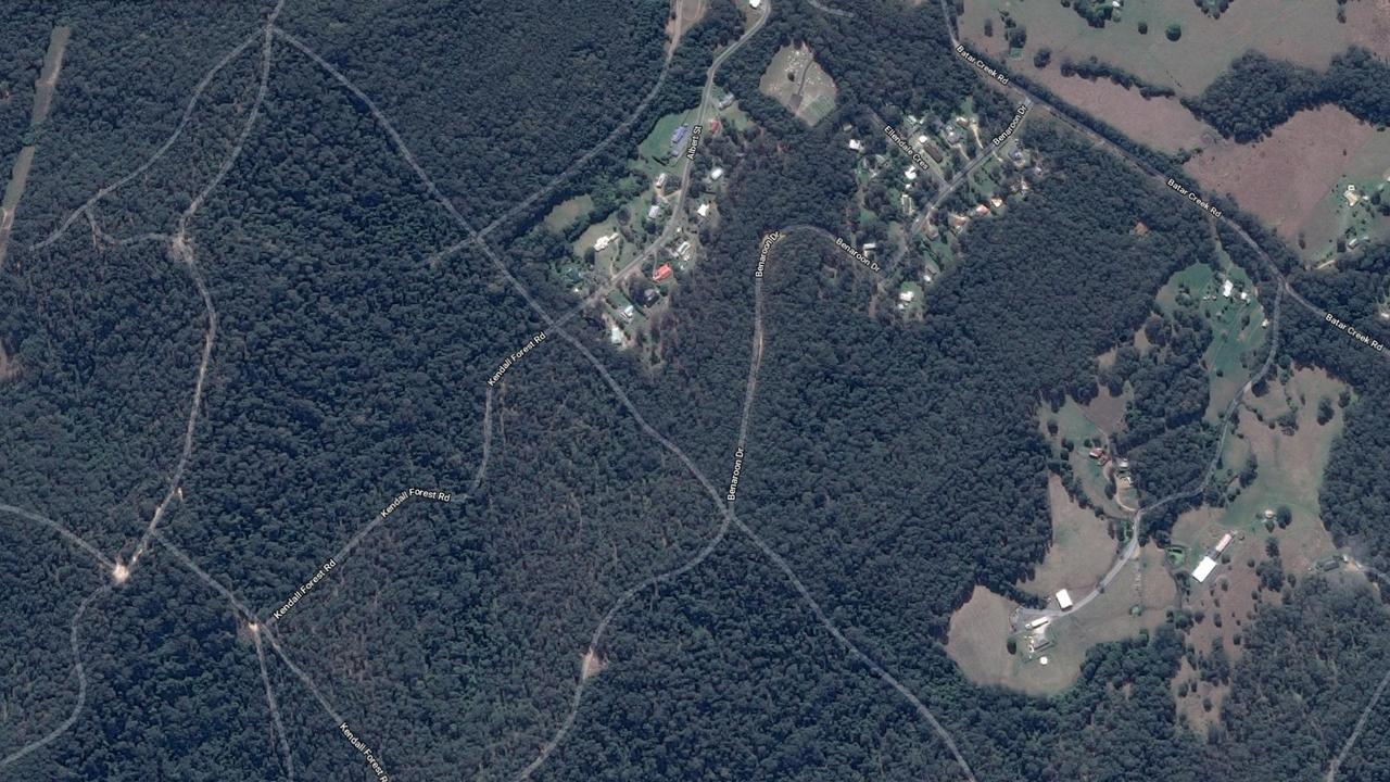 Benaroon Drive, Kendall in NSW where William Tyrrell disappeared.