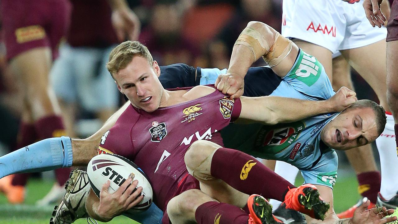 Daly Cherry-Evans had an unhappy night of it back in 2014.. Pic: Josh Woning.