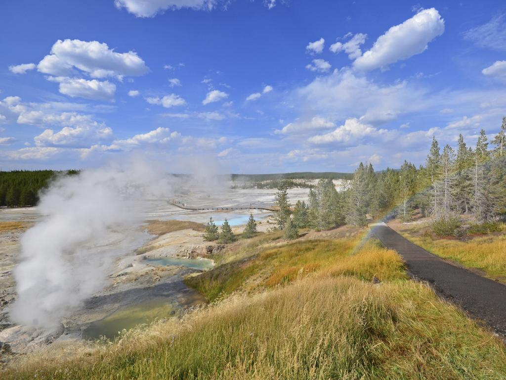 The normally regular geysers in Wyoming's Yellowstone National Park have been behaving strangely. Picture: iStock