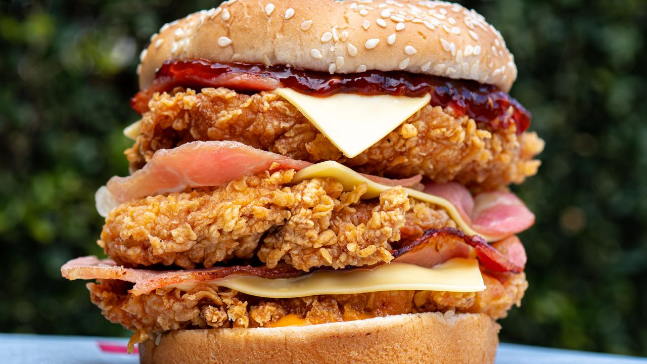 It's only available via the KFC secret menu. Picture: The Wolf of Eat Street.