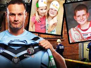 Blues skipper's beautiful gesture for mum who lost kids in fire