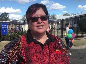 Proud indigenous woman and St Josephs teacher, Cherie Clancy