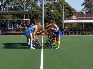 PHOTOS: Action from national hockey championships