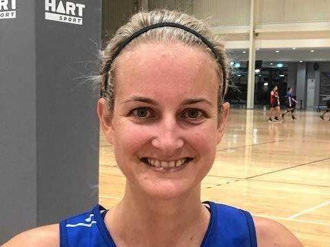 Goodna Sapphires netballer Beth Thornton