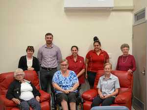 Hospital auxiliary donates recliners
