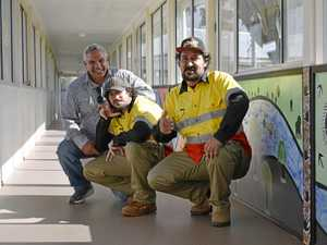 Hospital mural bridges gap as town celebrates NAIDOC week
