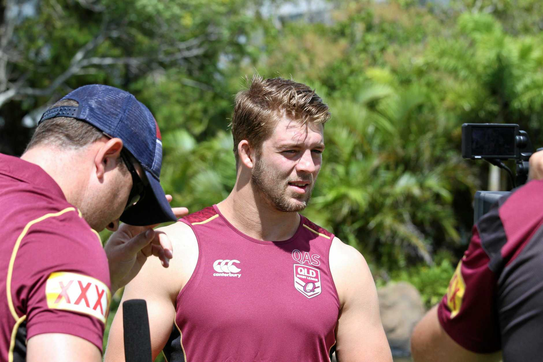 TOO GOOD: Christian Welch will play in a Maroons jersey in tonight's decider.
