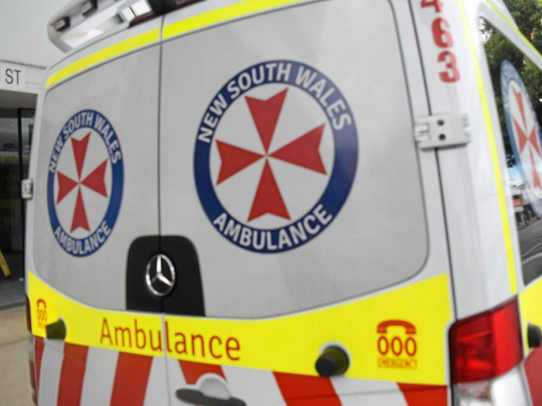 A 76-year-old woman, from Tweed Heads,was taken to Gold Coast Hospital in a critical condition after a two-vehicle crash.