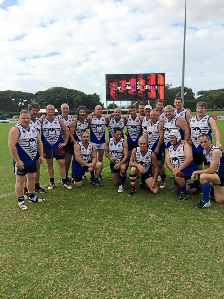 MASTERS: Gladstone-based Capricornia Barbarians will be competing in the A Mile in their Shoes Whitsunday Tropical Masters Cup in 2016. Supplied