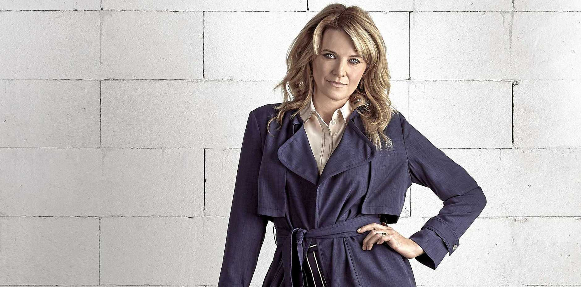 Lucy Lawless stars in the new Aussie crime drama My Life Is Murder.