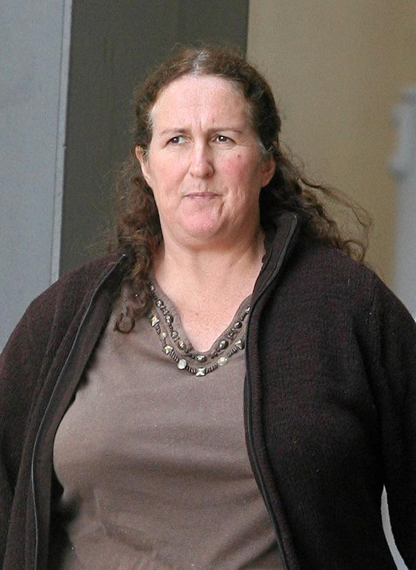 Michelle Stitt, 56, from Tarampa, was arrested after an elderly woman was admitted to Ipswich Hospital.