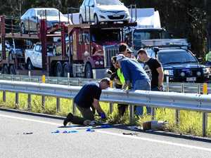 Witnesses watch in horror as man shot in front of them