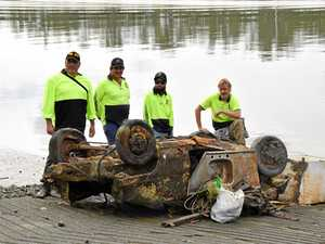 River clean-up yields big results