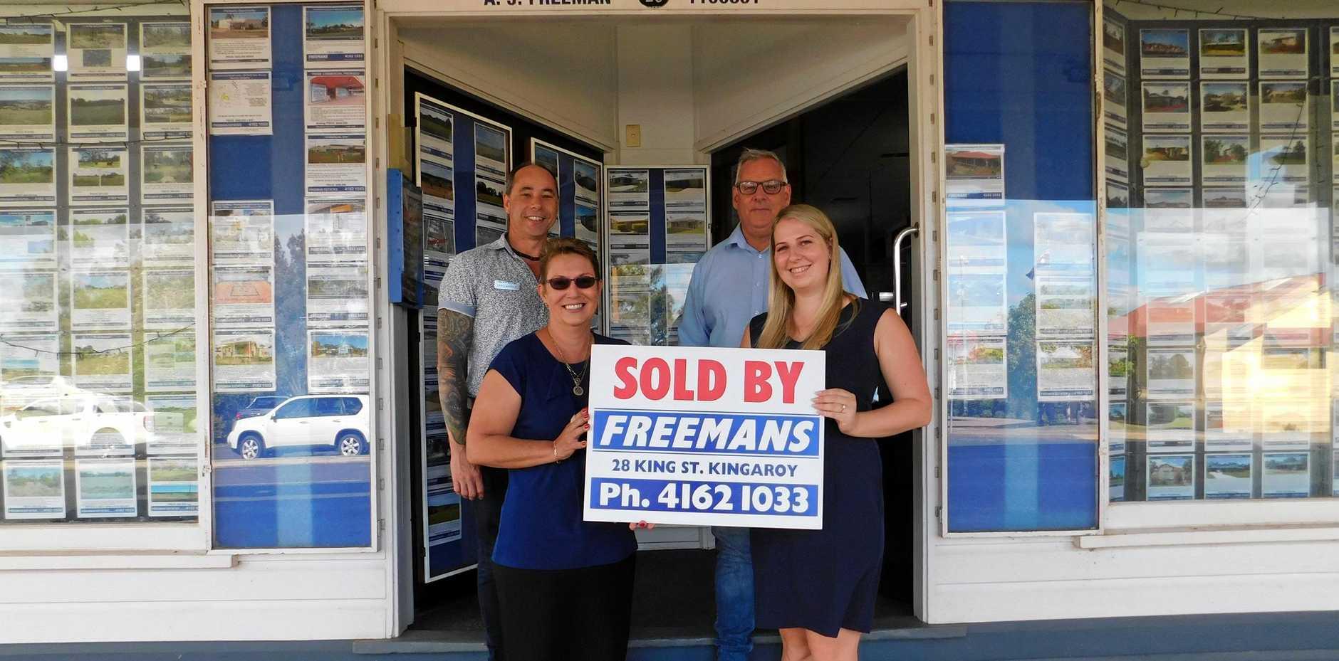 GO TEAM: Freeman Estates have had a very successful 2019 so far.