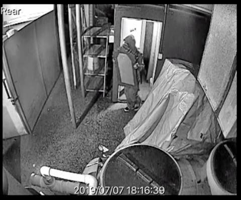 CCTV cameras capture petty theft at Coffs restaurant.