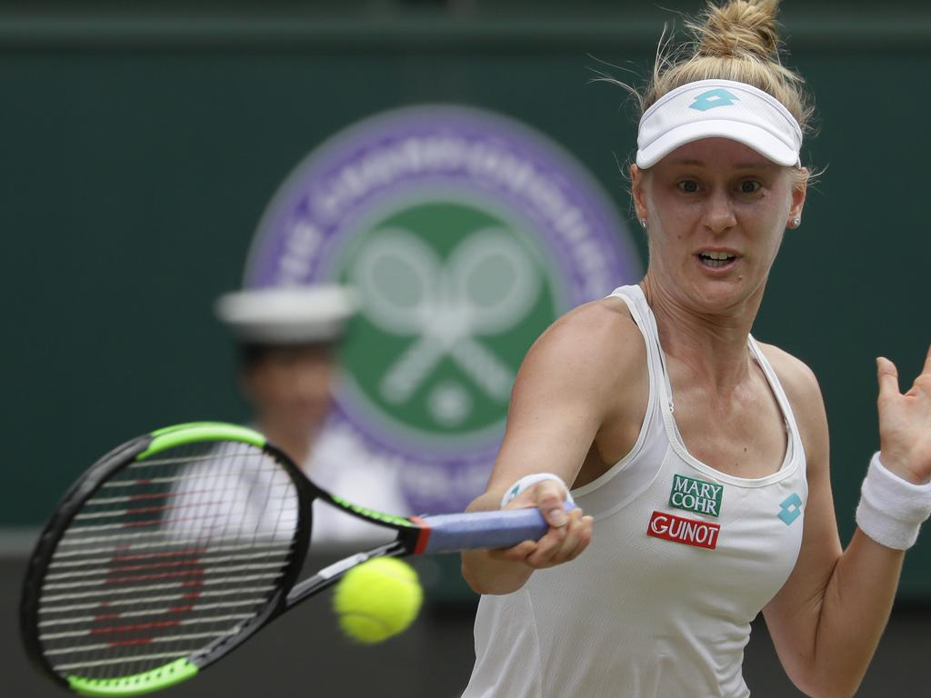 Riske was making Williams earn every point.