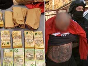 Former Rebels bikie arrested over alleged drug supply