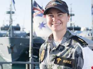 Hero Aussie sailor saves life of  newborn baby